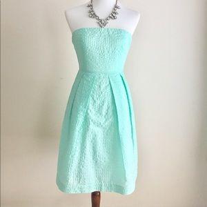 NWT Jcrew Strapless Dress | Mint | Sz 0